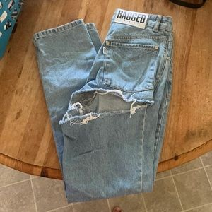 Ragged Jeans- worn only a few times